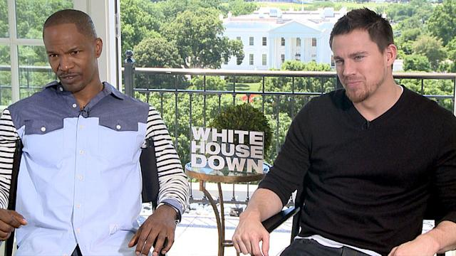 Channing Tatum and Jamie Foxx Talk Swapping Fatherhood Tips