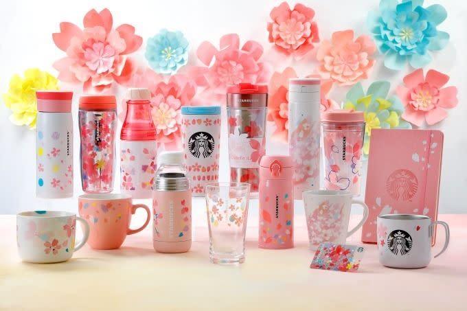2018 Starbucks星巴克櫻花商品系列