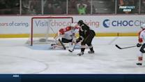 Silfverberg goes five-hole on shorty