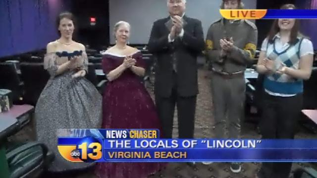 VIDEO: Local actors talk about roles in LINCOLN