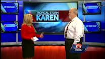 U.S. Army Corps of Engineers says it's ready for TS Karen