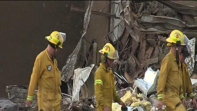 Tulsa firefighters help with search and rescue in Moore after tornado