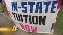 Undocumented students push for change to tuition policy