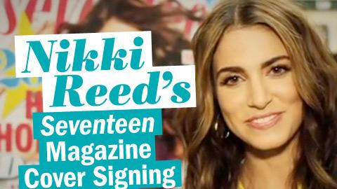 Nikki Reed's Dec/Jan Seventeen Magazine Cover Signing Event!
