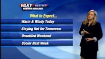 Wednesday Weather Webcast for May 29th