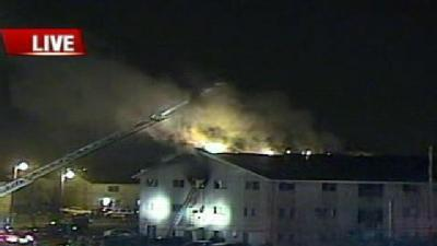3-Alarm Fire Reported At Milwaukee Apartment Building
