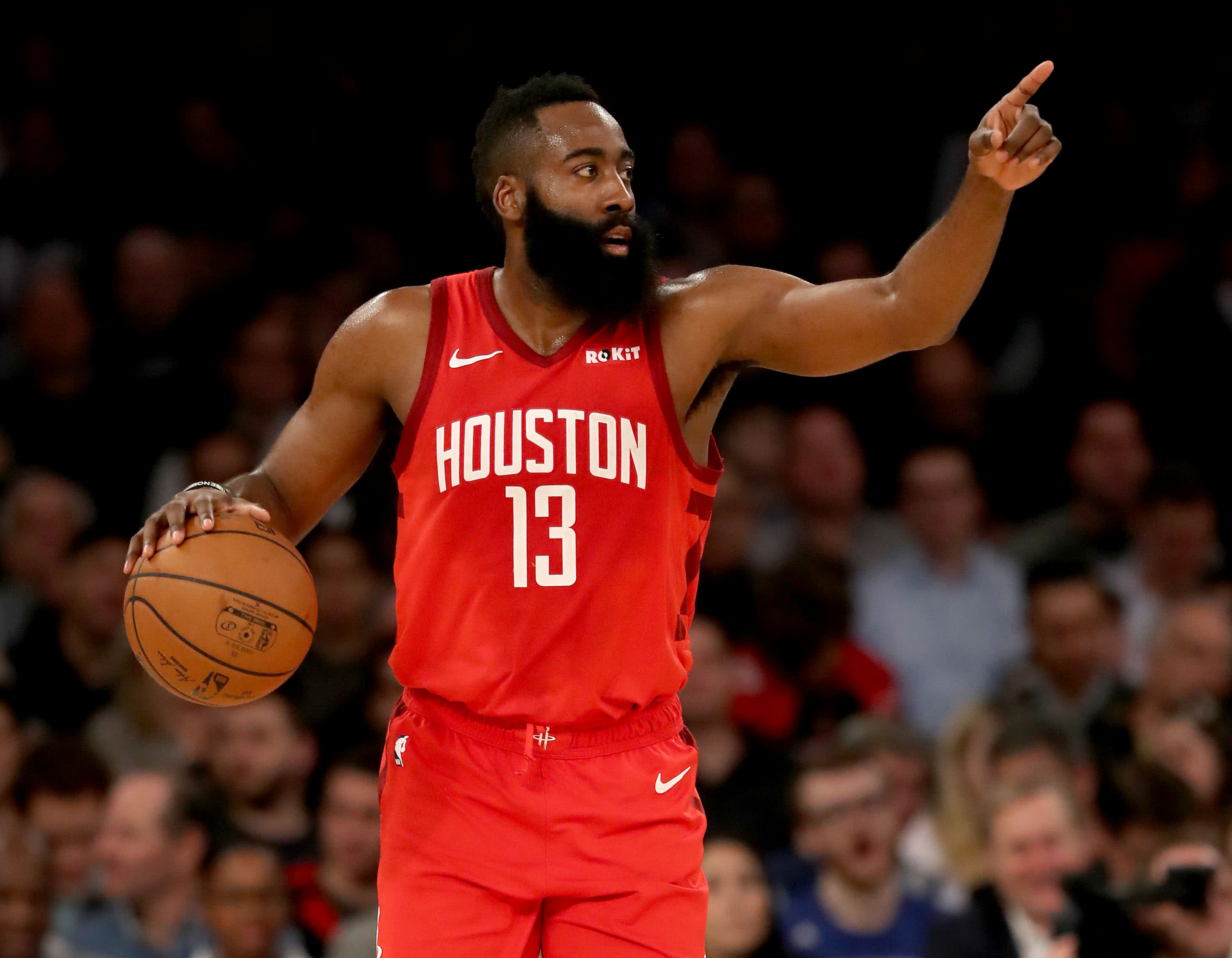 James Harden drops career-high 61 on Knicks, flirts with ...
