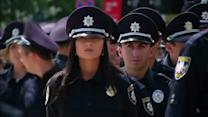 Ukraine swears in new police as part of reform effort