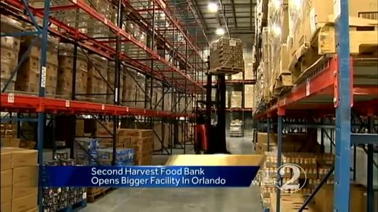 Second Harvest takes big bite out of hunger today