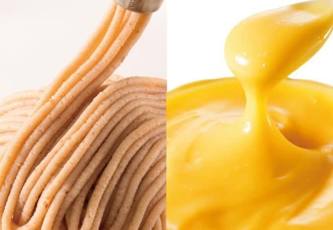 tokyo banana秋季限定銀座的蒙布朗蛋糕