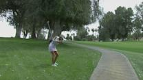 Lexi Thompson leads at Kraft Nabisco