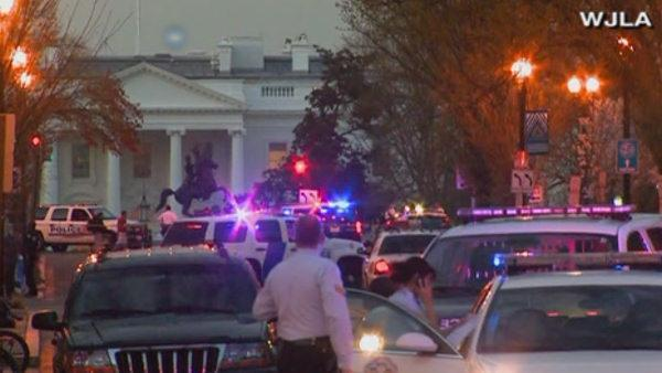 Suspicious vehicle found near the White House