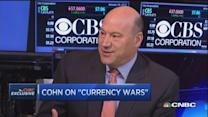 Goldman's Cohn: Won't see real dollar decline