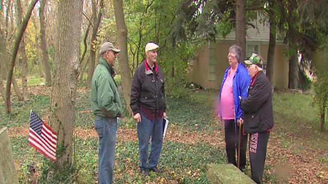 My Ohio: Voluteers at old cemetery honor those buried there although few tombstones mark graves