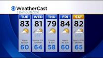 KDKA-TV Nightly Forecast (8/25)