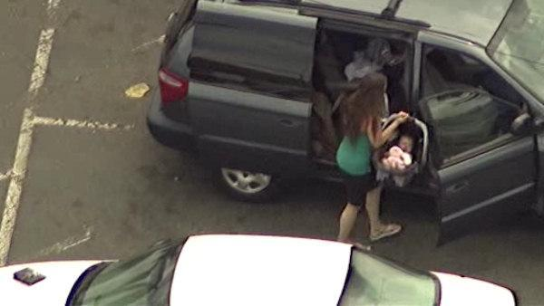 Vehicle stolen with baby inside found in Aberdeen, baby safe