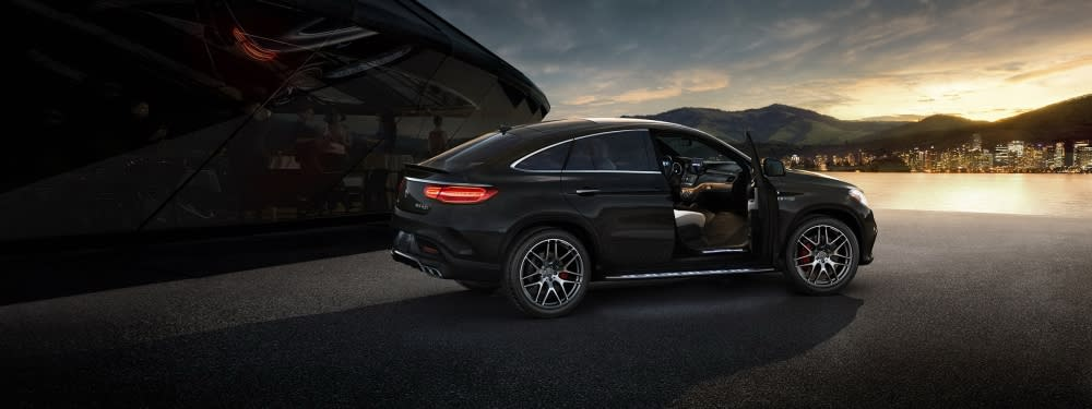 Audi Q8這次主要對手是BMW X6、Mercedes-Benz GLE Coupe等同級距的Coupe-SUV(圖片來源:https://www.mercedes-benz.ca/en/vehicles/class/gle/coupe/type-amg)