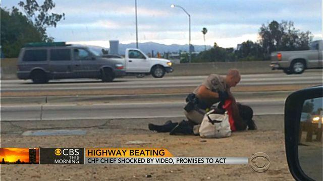 Community leaders express outrage over CHP officer who beat woman