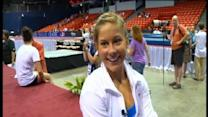 Shawn Johnson Returns To Competition