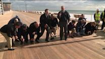 Boardwalk Ravaged by Sandy Celebrates Grand Opening