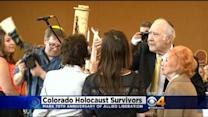 Memorial Held To Remember Nazi Concentration Camp Liberation