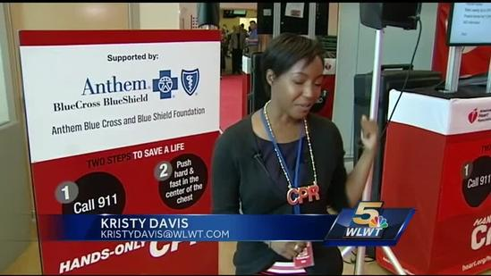 Tour hopes to get more people willing to do CPR