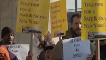 Security workers vote to strike at JFK Airport