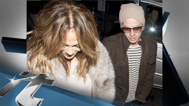 Jennifer Lopez News Pop: Jennifer Lopez Outshines Casper Smart's Killer Looks In London