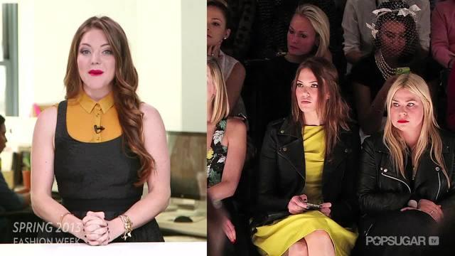 Mandy Moore and Lauren Conrad Take the Same Approach to Surviving NYFW