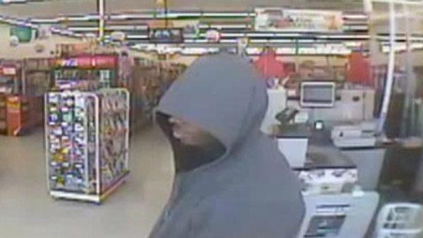 Man sought in dollar store robbery
