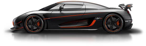 Koenigsegg跑車相當受到歡迎,之前Agera RS只花短短10個月就賣光(圖片來源:https://www.koenigsegg.com/agera-rs/)