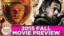 2015 Fall Movie Preview!
