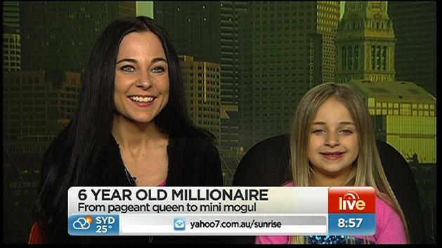 The six-year-old millionaire