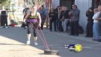 CrossFit competition in the Valley