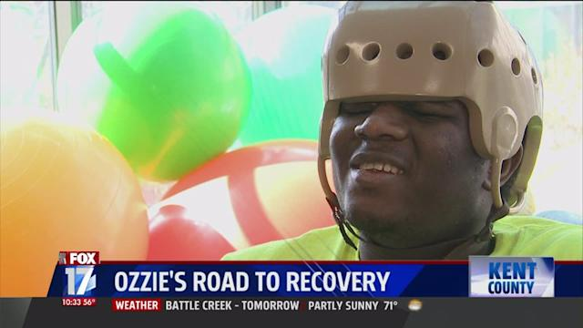 Blind, Former Refugee Finding Strength In Recovery After Car Accident
