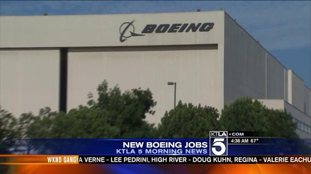 Boeing to Shift 300 Jobs to Long Beach