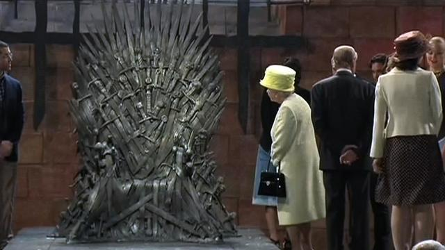 Watch: Queen Elizabeth visits