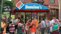 Workers strike at fast-food restaurants