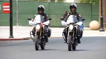 SJSU police officers switch to electric motorcycles