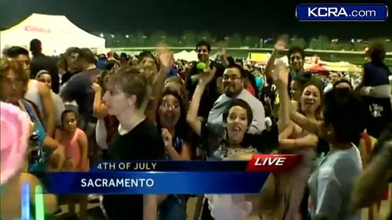 Thousands attend Cal Expo's fireworks show