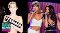 Miley Shows Nipples On Hollywood Blvd. - Selena Gomez & Justin Timberlake Perfor