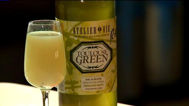 New Orleans distiller brings back locally made absinthe, vodka, & whiskey