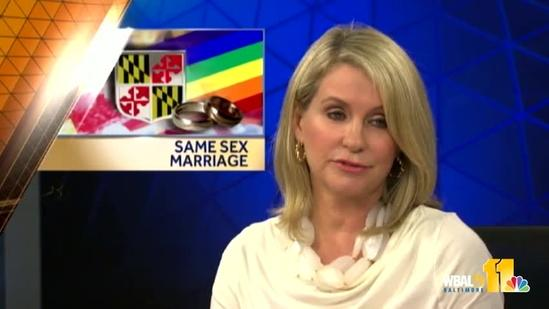 Kennedy Townsend: I support same-sex marriage