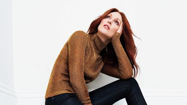 Julianne Moore Graces the Cover of Health Magazine