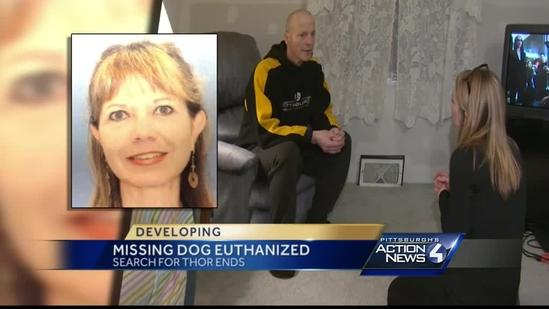Missing dog euthanized at accused kidnapper's home