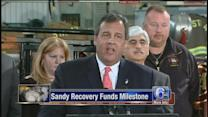 NJ Gov. Christie meets with Superstorm Sandy victims