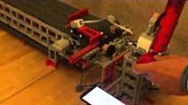 Talented Developer Invents LEGO Driving Simulator
