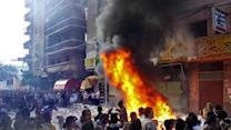 Clashes in Egypt as Morsi defends new powers