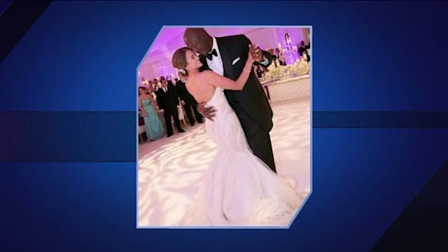 Michael Jordan gets married