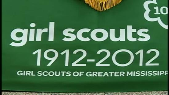 New Girl Scouts stamp